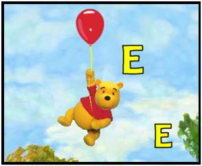 Primary Reading: Pooh Letter & Word Games