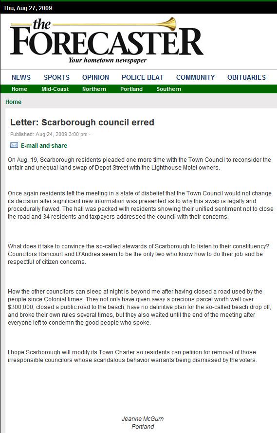Scarborough councilor makes unusual, public bid for leadership